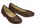 Crocs优雅浅口软皮面小单鞋