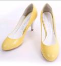 TATA明亮糖果色圆头小单鞋·【批发】·2双起卖