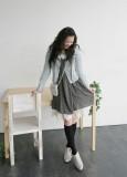春针织淑女连衣裙女装