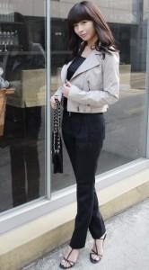 新女性职业长裤