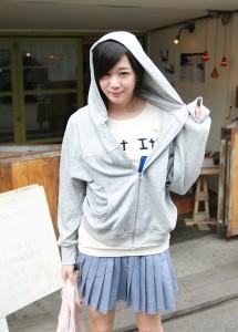 09春款韩版外套名媛風衣