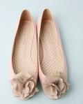 热销人气款蝴蝶结漆皮低跟单鞋
